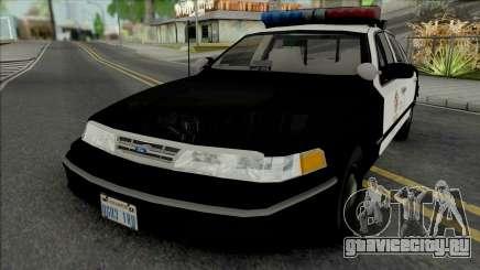 Ford Crown Victoria 1995 CVPI LAPD для GTA San Andreas