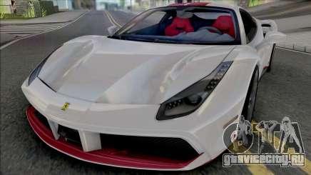 Ferrari 488 GTB 70th Anniversary для GTA San Andreas