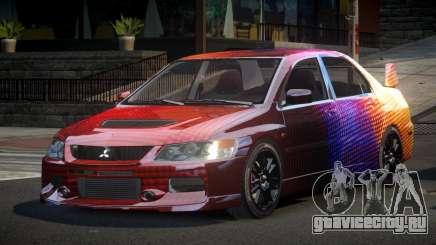 Mitsubishi Evo IX BS-U S5 для GTA 4