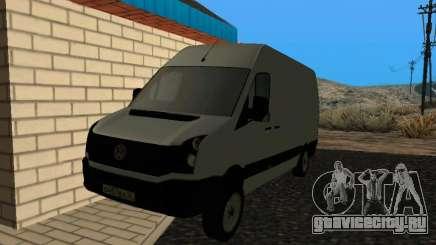 Volkswagen Crafter light - Cargo version для GTA San Andreas