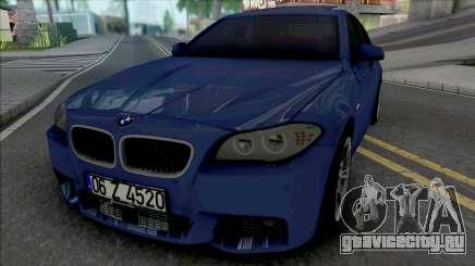 BMW F10 M Sport 520d 2011 для GTA San Andreas