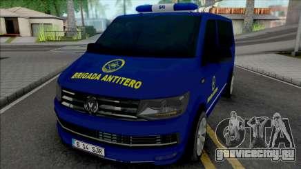 Volkswagen Transporter SRI Brigada AntiTero для GTA San Andreas