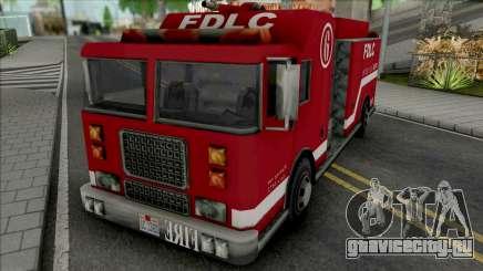 Firetruck from GTA LCS для GTA San Andreas