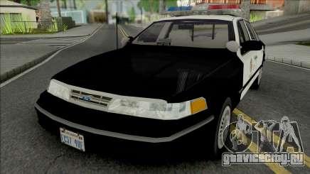 Ford Crown Victoria 1997 CVPI LAPD для GTA San Andreas