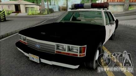 Ford LTD Crown Victoria 1991 LAPD для GTA San Andreas