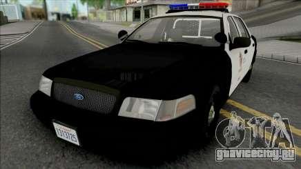 Ford Crown Victoria 2011 CVPI LAPD для GTA San Andreas