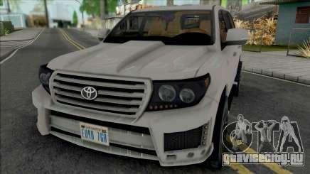 Toyota Land Cruiser 2015 Lowpoly для GTA San Andreas
