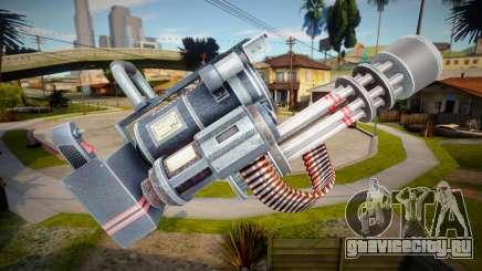 Minigun - Dead Rising 4 для GTA San Andreas