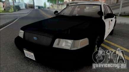 Ford Crown Victoria 2007 CVPI LAPD GND для GTA San Andreas