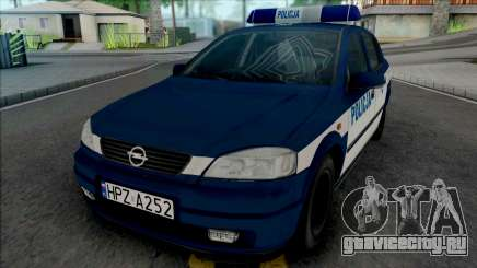 Opel Astra G Policya KSP для GTA San Andreas
