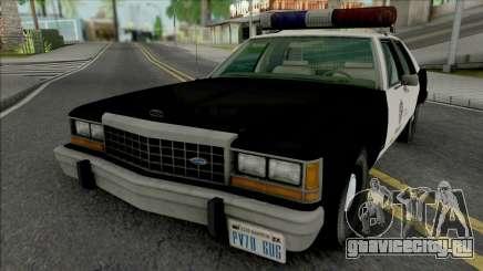 Ford LTD Crown Victoria 1987 LAPD для GTA San Andreas