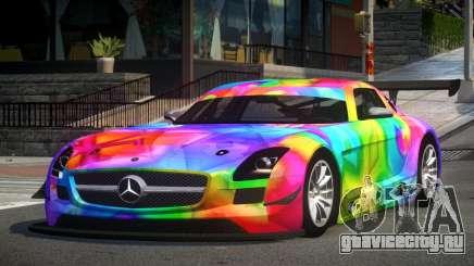 Mercedes-Benz SLS GT-I S8 для GTA 4