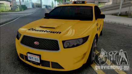 Vapid Torrence Taxi Downtown v2 для GTA San Andreas