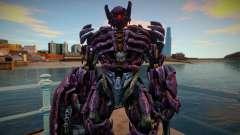 Shockwave from Transformers: Human alliance 1 для GTA San Andreas