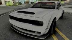 Dodge Challenger SRT Demon HPE1200 для GTA San Andreas