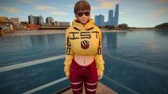 DOA Hitomi Fashion Casual DLC Los Santos Tuner 2 для GTA San Andreas