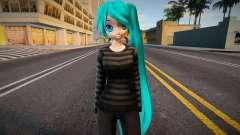 PDFT Hatsune Miku Cute outfit для GTA San Andreas