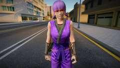 Dead Or Alive 5 - Ayane (Costume 2) 1 для GTA San Andreas