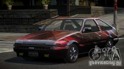 Toyota Corolla AE86 Qz PJ4 для GTA 4