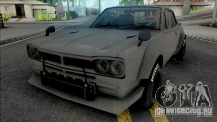 Nissan Skyline 2000 GT-R 1969 SpeedHunters для GTA San Andreas