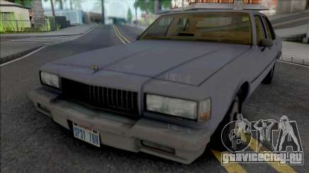 Chevrolet Caprice 1989 LAPD Unmarked для GTA San Andreas