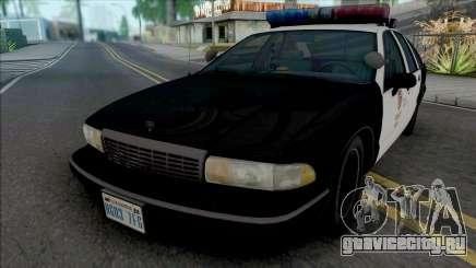 Chevrolet Caprice 1993 LAPD для GTA San Andreas