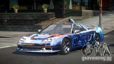 Honda NSX-R Qz S6 для GTA 4