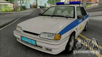 ВАЗ-2115 ОБ ППСП ГУ МВД для GTA San Andreas