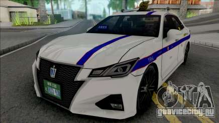 Toyota Crown Athlete 2016 Private Taxi для GTA San Andreas
