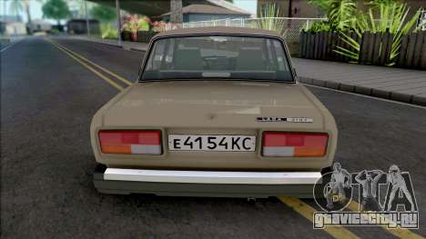 ВАЗ-2107 (Карельская АССР) для GTA San Andreas