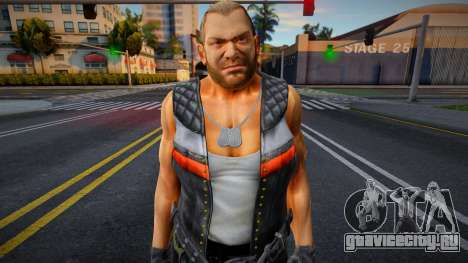 Dead Or Alive 5 - Bass Armstrong (Costume 1) 4 для GTA San Andreas