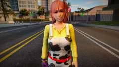 Dead Or Alive 5: Last Round (without Glasses) для GTA San Andreas