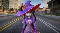 Mona from Genshin Impact для GTA San Andreas