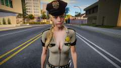 Claire Redfield Sexy Sheriff (from RE2 remake mo для GTA San Andreas