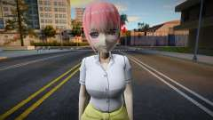 Nakano Ichika (School Outfit) для GTA San Andreas