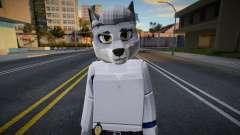 Roblox Detective Wolf (JohnnySilverPaw) для GTA San Andreas