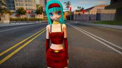 PDFT Hatsune Miku with Bura clothes from DBGT для GTA San Andreas