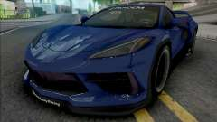 Chevrolet Corvette Stingray 2020 Rocket Bunny для GTA San Andreas