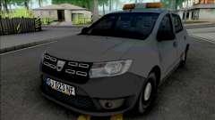 Dacia Sandero 2018 Van для GTA San Andreas