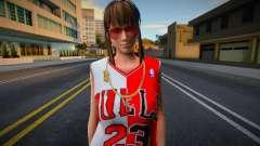 Hitomi Fashion Casual Chicago Bulls Jersey 2 для GTA San Andreas