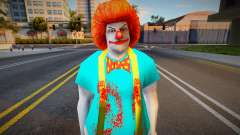 Handsome Eyes Killer Clown для GTA San Andreas