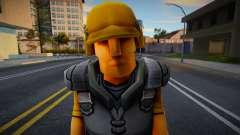 Toon Soldiers (Yellow) для GTA San Andreas