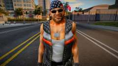 Dead Or Alive 5 - Bass Armstrong (Costume 1) 1 для GTA San Andreas