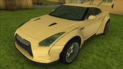 Nissan GT-R R35 10 (Rocket Bunny) для GTA Vice City