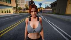 DOA Mai Shiranui Sport Gym Im a Fighter 2 для GTA San Andreas