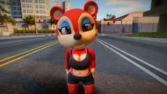 New Model Animal Crossing Fan Charater для GTA San Andreas