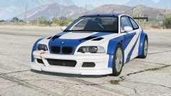 BMW M3 GTR (E46) Most Wanted v2.2b для GTA 5