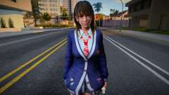 DOAXVV Nanami - Autumn School Wear 1 для GTA San Andreas