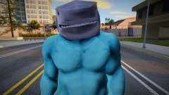 King Shark (The Suicide Squad) для GTA San Andreas