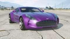Aston Martin One-77 2010〡add-on для GTA 5